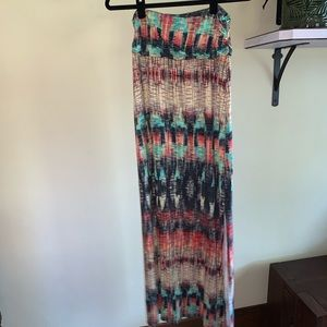 Weston   maxi skirt   can sub for strapless   L